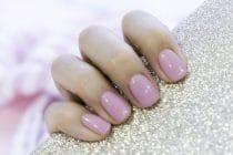 Mooie roze gelnagels