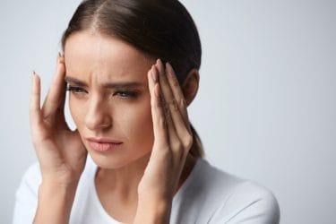 Hoofdpijn na een massage komt vaak voor.