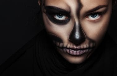 Leer enge make-up looks in de cursus special effects FX make-up.