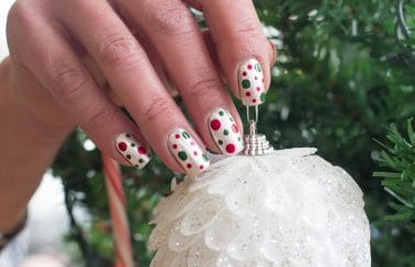tips voor creative manicure voor de feestdagen