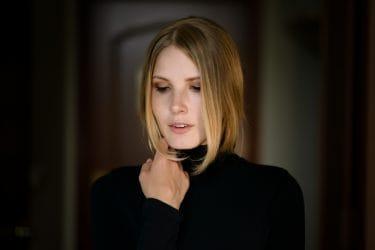 Haarkleur tips face framing