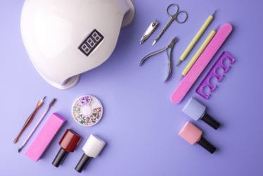 producten en materialen voor het plaatsen van gelnagels